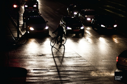 Foto de Mikael Colville-Andersen, publicada no CopenhagenCycleChic.com